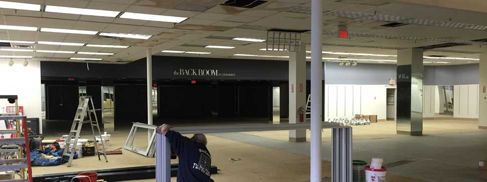 Crossroads Mall Interior Before