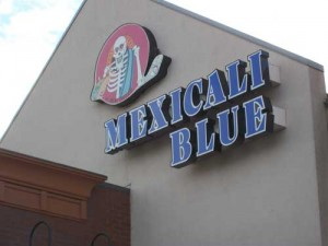 Mexicali Blue Exterior Logo