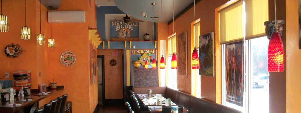Mexicali Blue Restaurant Interior Design