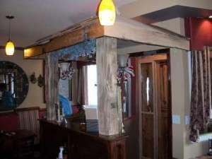 Vigneto Cafe Rustic Doorway