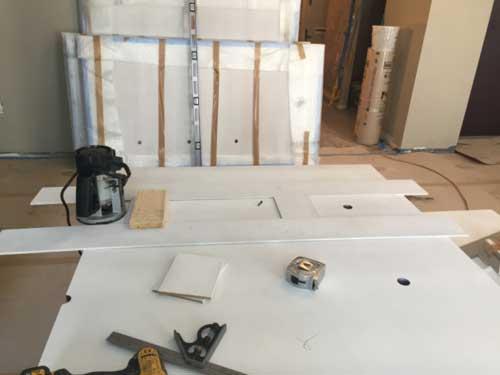 Before renovation begins