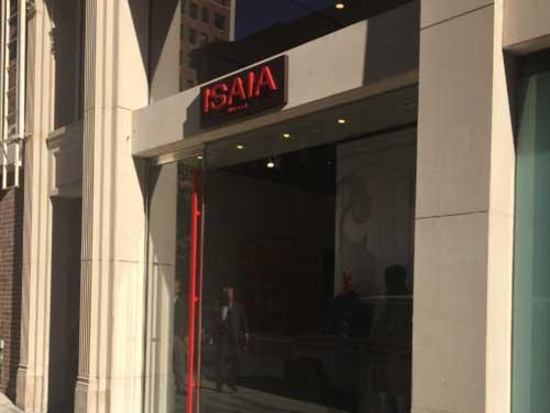 Isalia store front