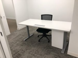 Head Of HR's Motorized Lift Desk