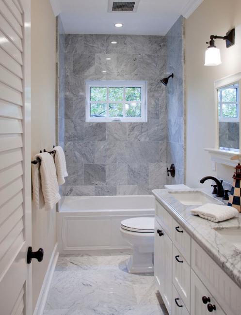 Fully remodeled bathroom